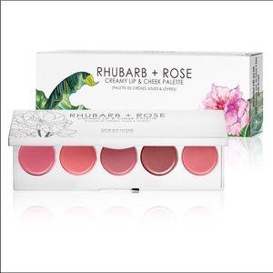 Rhubarb + Rose Palette